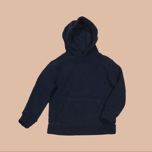 Kids Size - Fleece Sherpa Pullover Hoodie - Medium